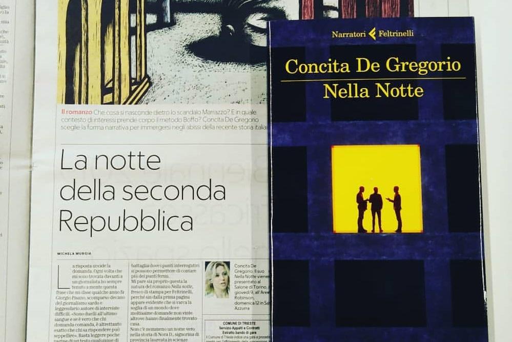 Concita De Gregorio: la notte della politica
