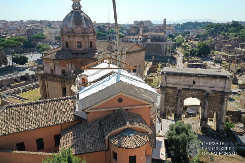 Il recupero della Chiesa S.Giuseppe dei Falegnami