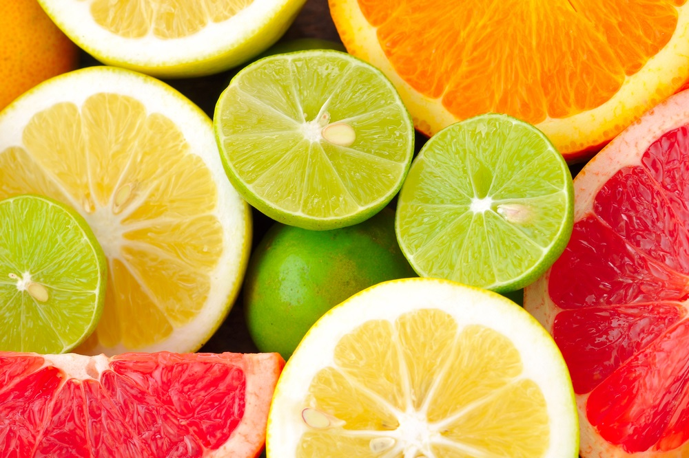 Agrumi a tavola: un pieno di vitamina C