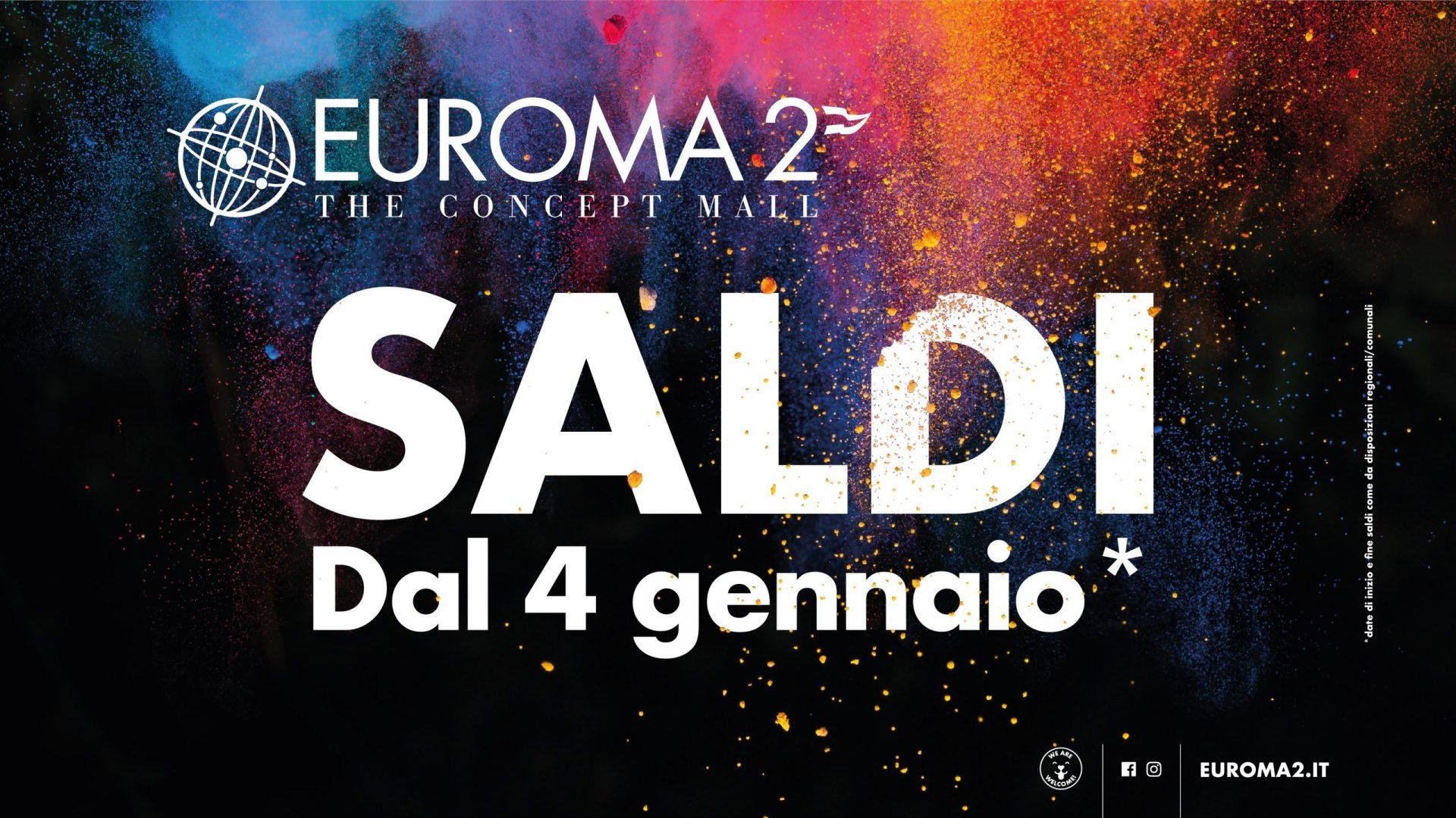 Tutto pronto a Euroma 2 per l'inizio dei saldi invernali