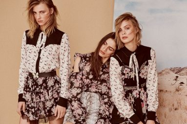 Fenicotteri e fiori: la primavera di Twinset