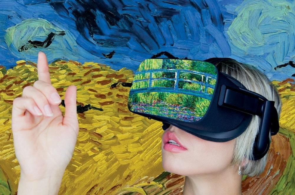Arte virtuale: Van Gogh e Monet Experience