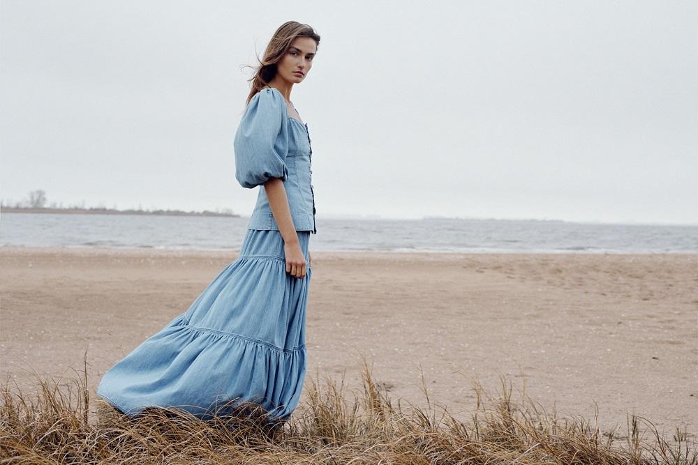 L'azzurro di Zara: denim on denim
