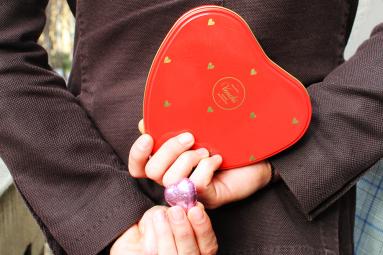 Il cioccolato parla d'amore