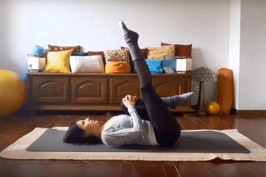 Attività da svolgere in casa: Pilates