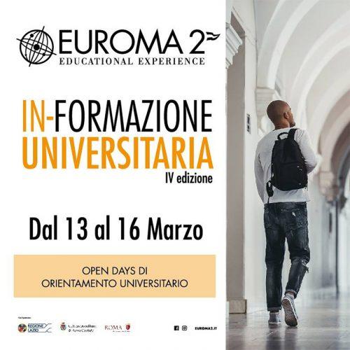 Evento IN-FORMAZIONE UNIVERSITARIA 2019