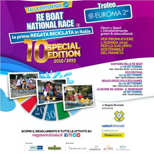 Evento RE BOAT NATIONAL RACE 2019 – TROFEO EUROMA2