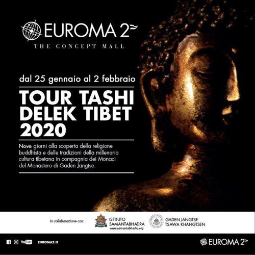 Evento Euroma2 ospita il Tour Tashi Delek Tibet 2020