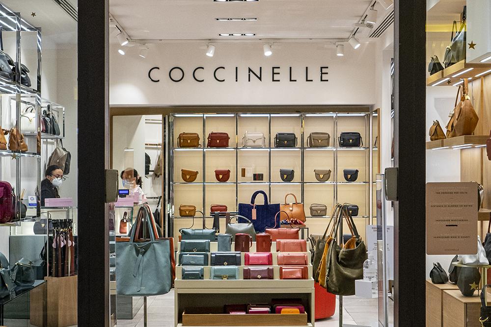 Coccinelle, la linea di borse made in Italy