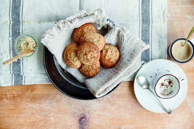 Biscotti morbidi con castagne e nocciole senza glutine