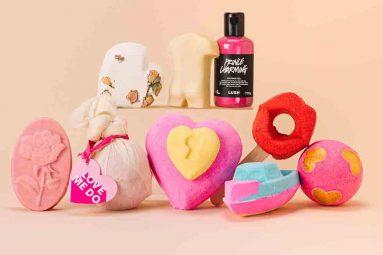 Lush scalda l'inverno con la nuova collezione di San Valentino