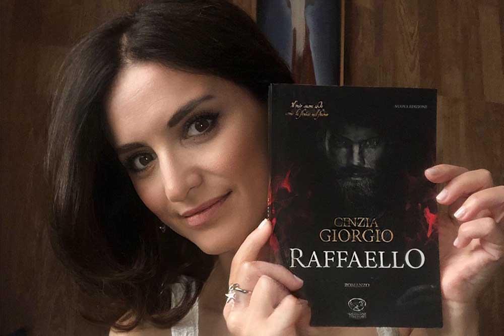 Ristampa del libro ispirato a Raffaello di Cinzia Giorgio