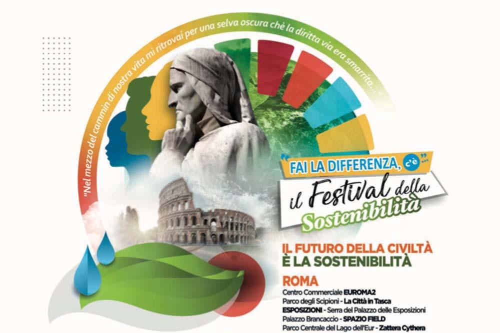 Al via il Festival della Sostenibilità a Euroma2